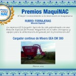 Premio MaquiNAC - Diploma Gea