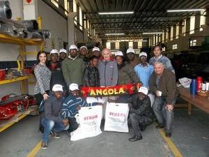 Syra delegacion Angola 2