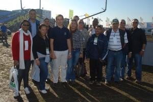 Delegación de sudafricanos en AgroActiva