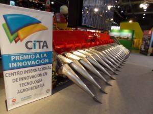 Cabezal maicero Mainero MDD-100, Premio CITA de Oro 2013