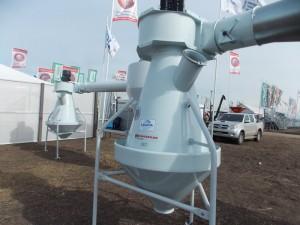 Sistema de prelimpieza de granos Kongskilde KF, de Leuca