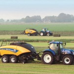 New Holland en campo