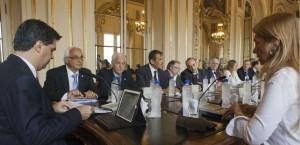 Reunion Capitanich, Giorgi, referentes maquinaria