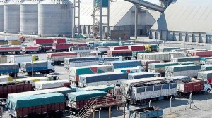 Camiones puerto Rosario