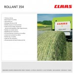 Rotoenfardadora Claas Rollant 354 RC (Folleto digital)