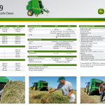 Rotoenfardadora John Deere 469 (Folleto digital)