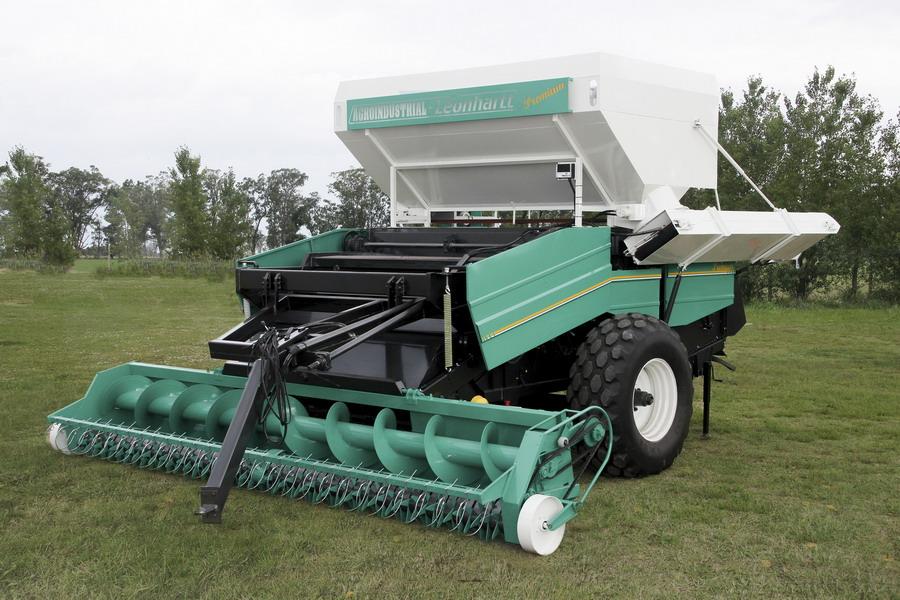 Cosechadora De Man 237 Agroindustrial Leonhartt Premium
