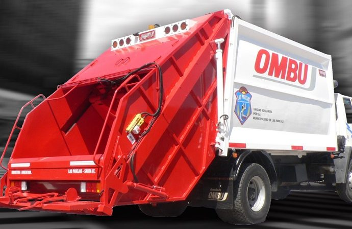 Compactor residuos Ombu