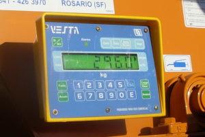 Balanza para mixer Balanzas Vesta 3530