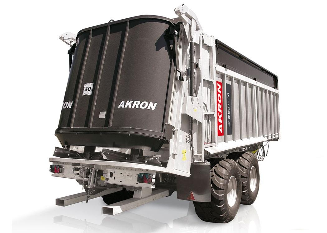 Carro compactador Akron CC38100 - Maquinac