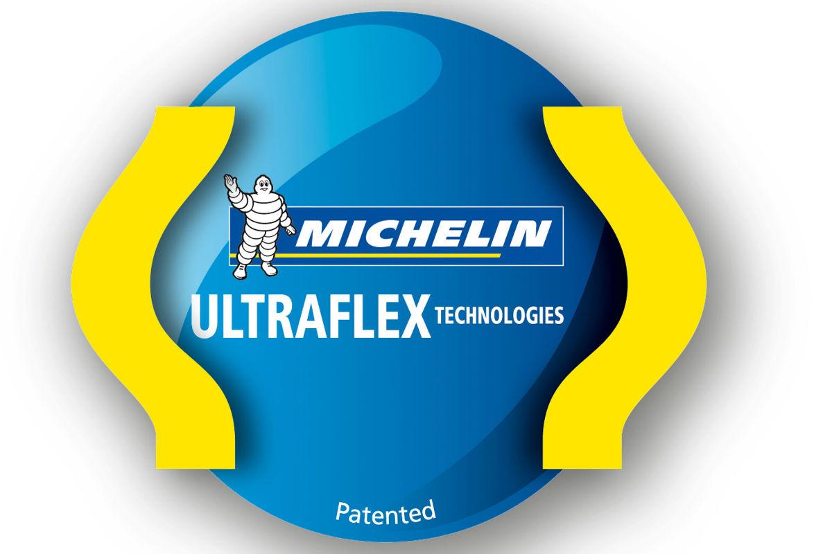 logo tecnologia michelin ultraflex maquinac