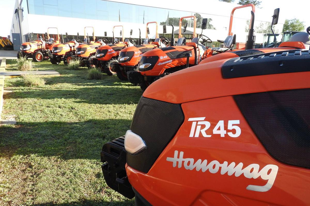 Tractor Hanomag TR