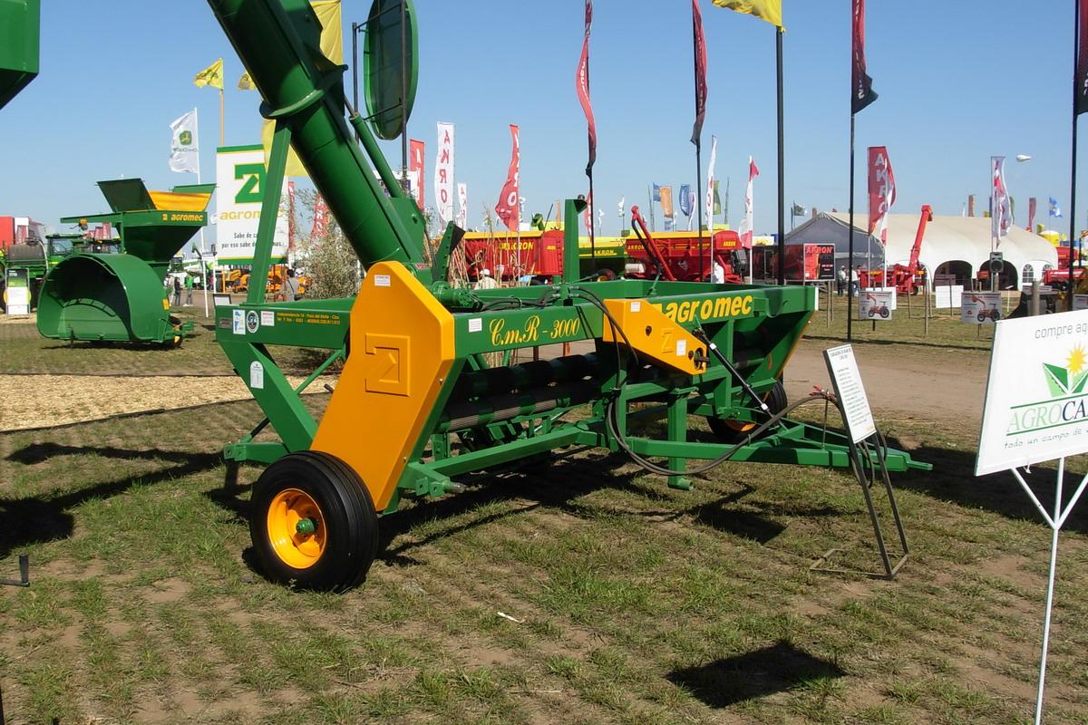 Extractora de granos Agromec CMR 3000