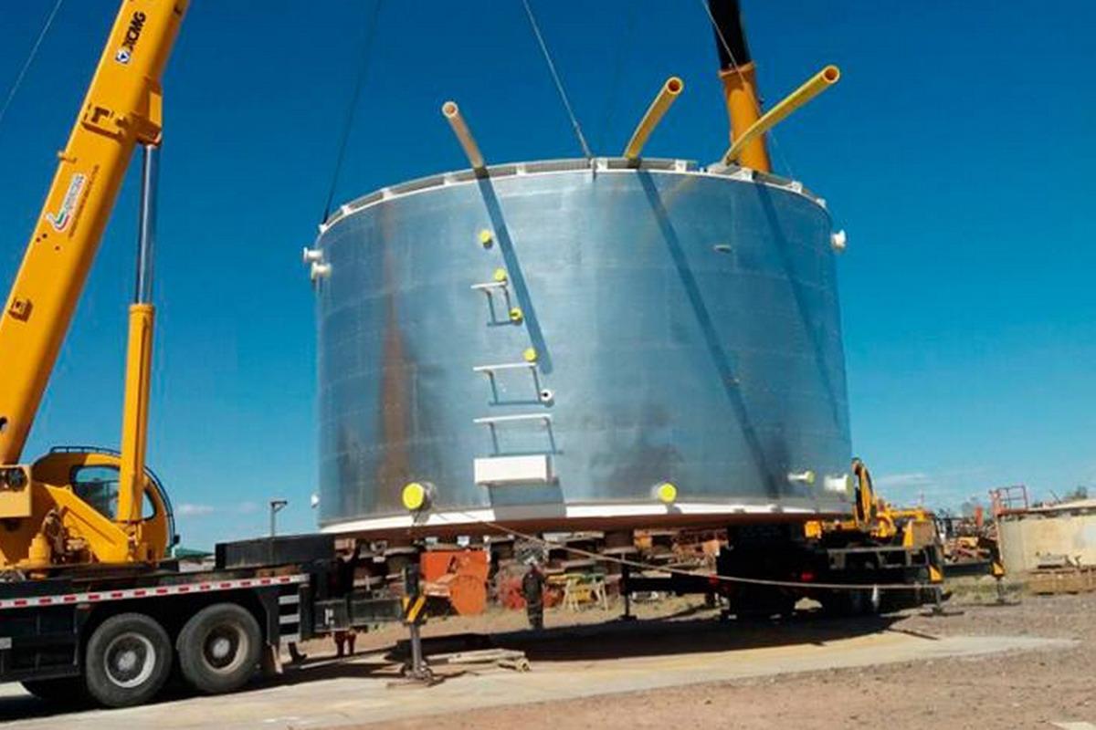 Bertotto boglione dise un tanque especial multiuso for Criadero de cachamas en tanques