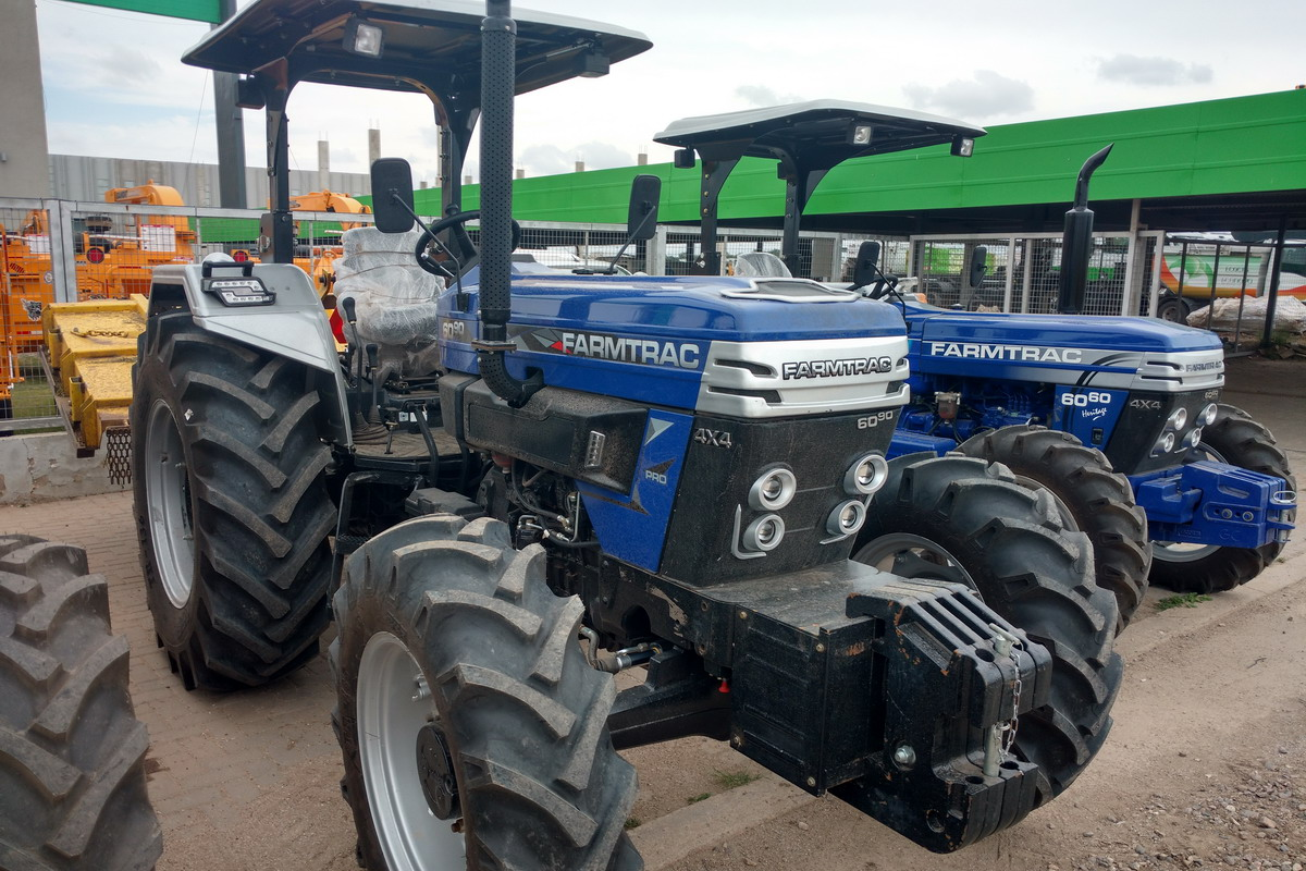 Tractor Farmtrac FT 6090 - Maquinac