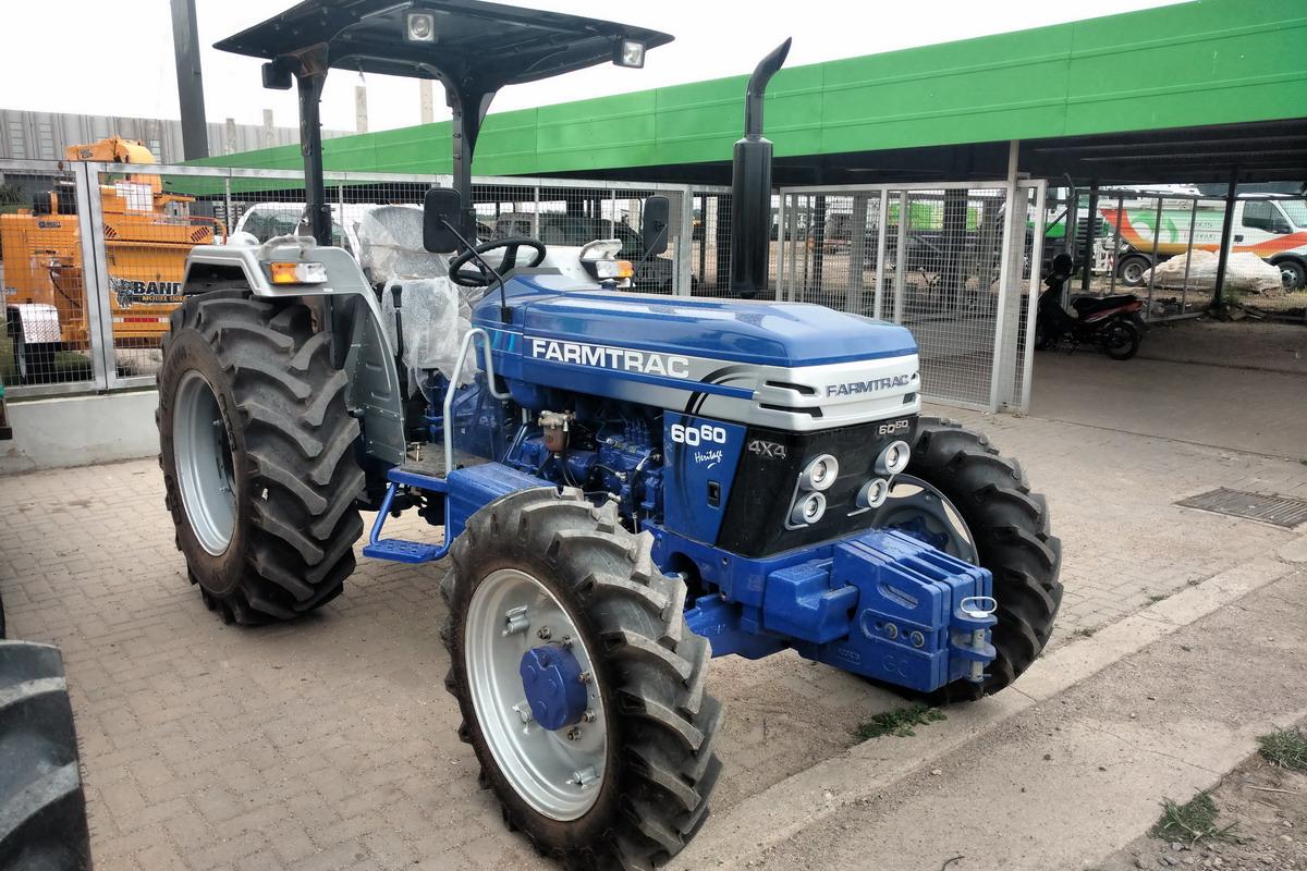 Tractor Farmtrac FT 6060 - Maquinac