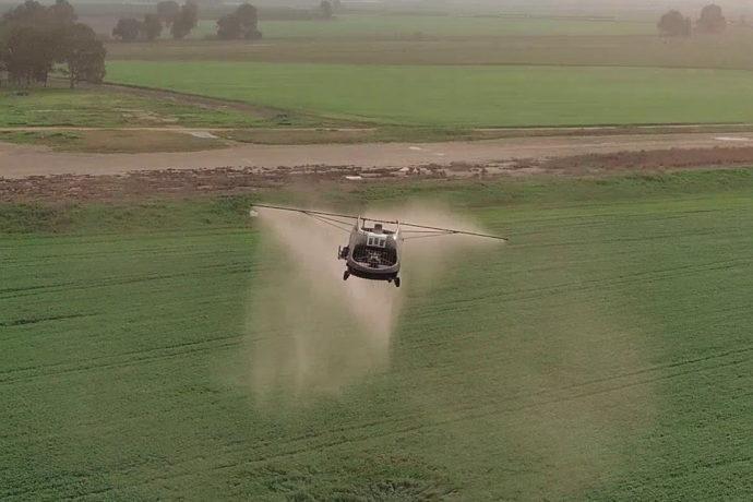Desarrollan un súper drone pulverizador